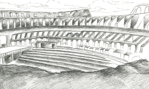 The Colosseum by Minh Tran.