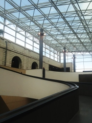 The museum entryway