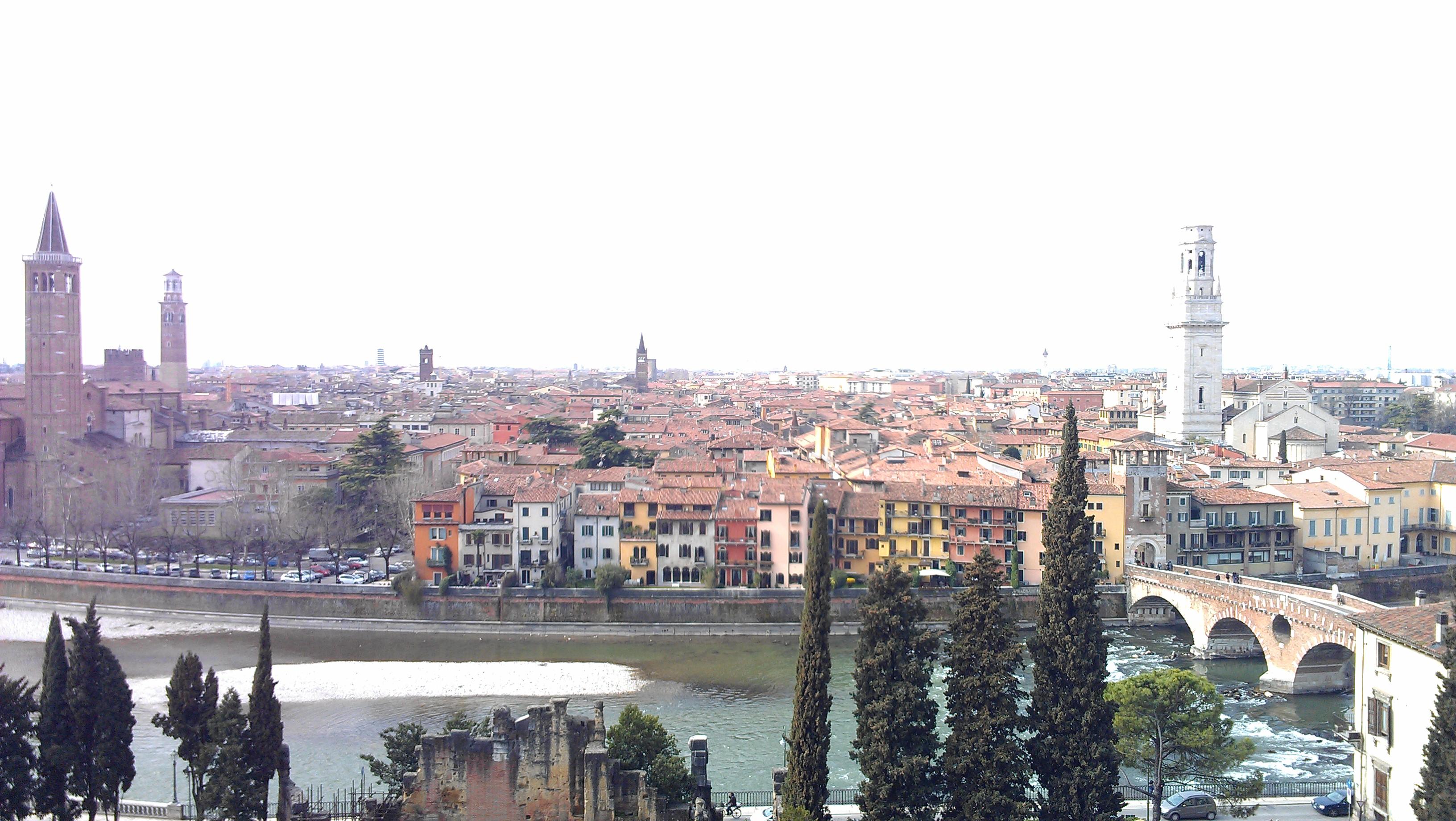 Santa anastasia and the duomo basilicas